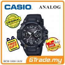 CASIO MEN MCW-100H-1A3V Analog Watch | Tough looking case