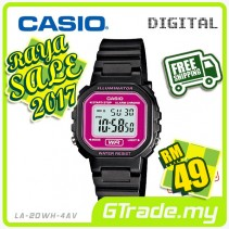 ✰RAYA✰CASIO Kids Ladies LA-20WH-4AV Digital Watch |Small Cute Petit