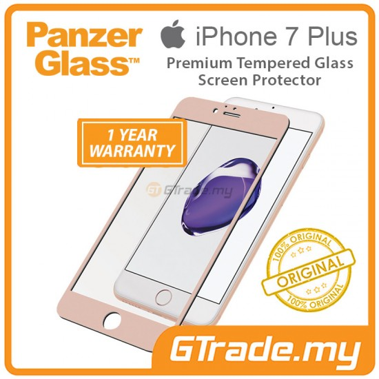 PanzerGlass Tempered Premium Screen Protector Apple iPhone 8 7 Plus RS