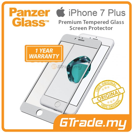 PanzerGlass Tempered Premium Screen Protector Apple iPhone 8 7 Plus SV