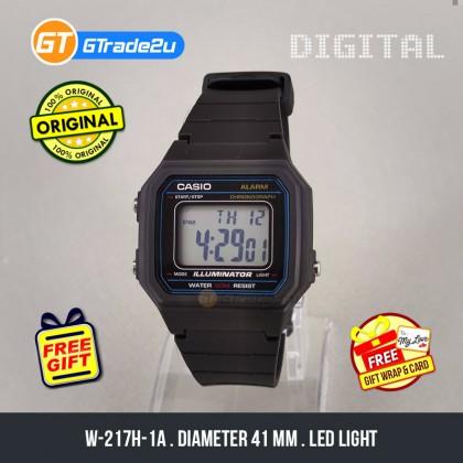 [READY STOCK] CASIO STANDARD W-217H-1A Digital Watch   Classic 1991 Design Calendar
