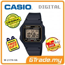 CASIO STANDARD W-217H-9A Digital Watch | Classic 1991 Design Calendar