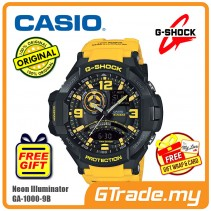 CASIO G-SHOCK GA-1000-9B Watch | GRAVITYMASTER Aviator Design