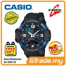 CASIO G-SHOCK GA-1000-2B Watch | GRAVITYMASTER Aviator Design