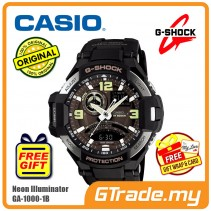 CASIO G-SHOCK GA-1000-1B Watch | GRAVITYMASTER Aviator Design