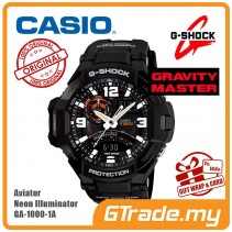 CASIO G-SHOCK GA-1000-1A Watch | GRAVITYMASTER Aviator Design