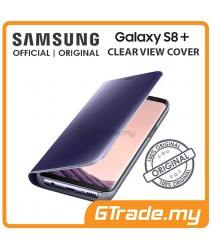 SAMSUNG Official Original Clear View Flip Case Galaxy S8 Plus Violet