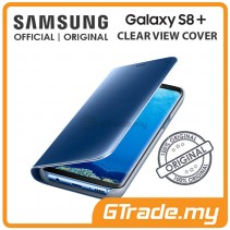 SAMSUNG Official Original Clear View Flip Case Galaxy S8 Plus Blue