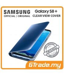 SAMSUNG Official Original Clear View Flip Case Galaxy S8 Plus Blue