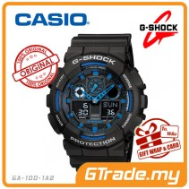 CASIO G-SHOCK GA-100-1A2 Analog Digital Watch | Magnetic Resist.