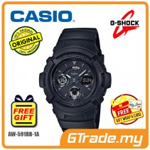 CASIO G-SHOCK AW-591BB-1A Digital Analog Watch | Matte Black