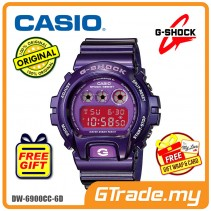 CASIO G-SHOCK DW-6900CC-6D Digital Watch | Purple Fashion Metallic [PRE]