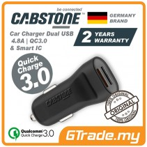 CABSTONE QC 3.0 2-USB Car Quick Charger