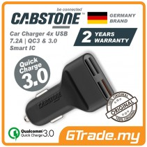 CABSTONE 7.2A 4 USB Car Quick Charger