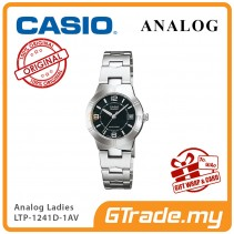 CASIO Ladies LTP-1241D-1AV Analog Watch | Petit Charm essential