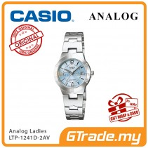 [READY STOCK] CASIO Ladies LTP-1241D-2AV Analog Watch | Petit Charm essential
