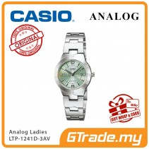 CASIO Ladies LTP-1241D-3AV Analog Watch | Petit Charm essential