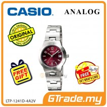 [READY STOCK] CASIO Ladies LTP-1241D-4A2V Analog Watch | Petit Charm essential