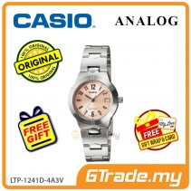 [READY STOCK] CASIO Ladies LTP-1241D-4A3V Analog Watch | Petit Charm essential