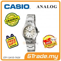 [READY STOCK] CASIO Ladies LTP-1241D-7A2V Analog Watch | Petit Charm essential