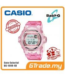 CASIO Ladies BABY-G BG-169R-4D Digital Watch Water Sport 200m Sunshine