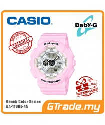 CASIO Ladies BABY-G BA-110BE-4A Digital Watch Beach Color Series