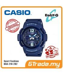 CASIO Ladies BABY-G BGA-210-2B2 Digital Watch Female Sport Fashion