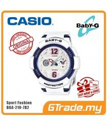CASIO Ladies BABY-G BGA-210-7B2 Digital Watch Female Sport Fashion