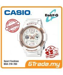 CASIO Ladies BABY-G BGA-210-7B3 Digital Watch Female Sport Fashion