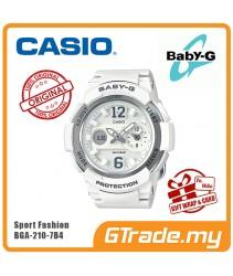 CASIO Ladies BABY-G BGA-210-7B4 Digital Watch Female Sport Fashion