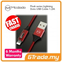 MCDODO Flash Lightning USB Cable RD | Apple iPhone 7 7S Plus 6S 6 Plus