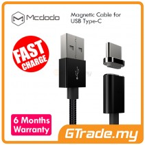 MCDODO Magnetic USB Type-C Cable BK | Samsung Galaxy Note 8 S8 S8 Plus