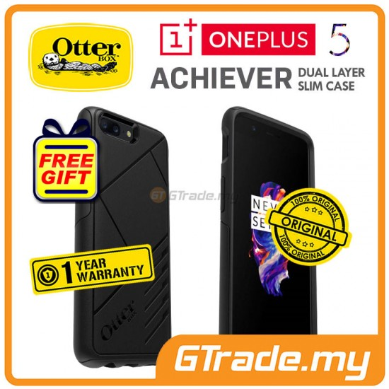 OTTERBOX Slim Protect Tough Case | OnePlus One Plus 5 Five - Black