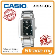 CASIO Men MTP-1233D-1AV Analog Watch | Polygon Shape Design [PRE]
