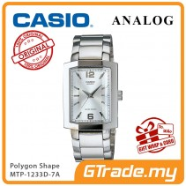 CASIO Men MTP-1233D-7AV Analog Watch | Polygon Shape Design [PRE]