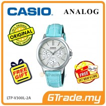 CASIO LADIES LTP-V300L-2AV Analog Watch | Multi-Hand Water Resistant