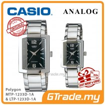 CASIO Couple MTP-1233D-1A & LTP-1233D-1A Couple Watch Sharp Clean [PRE]