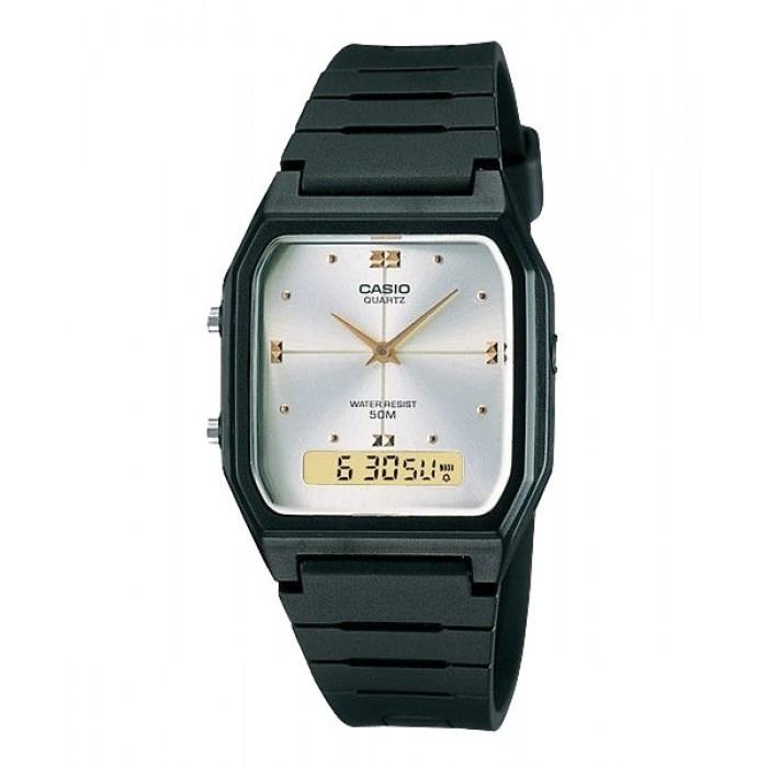 Casio Men Aw 48he 7a Analog Digital Watch Simple Clean