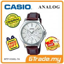 CASIO MEN MTP-V300L-7AV Analog Watch | Multi-Hand Water Resistant