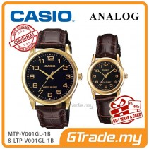 [READY STOCK] CASIO Couple MTP-V001GL-1B & LTP-V001GL-1B Couple Watch Simple Easy