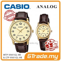 [READY STOCK] CASIO Couple MTP-V001GL-9B & LTP-V001GL-9B Couple Watch Simple Easy