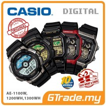 CASIO Men Digital Watch Jam Casio Ori Lelaki AE-1100W-1200WH-1300WH
