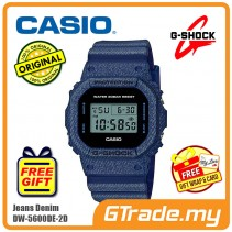 CASIO G-SHOCK DW-5600DE-2D Digital Watch | Denim Jeans Young Gen. [PRE]