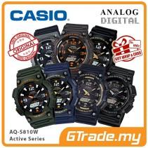 CASIO Men Solar Watch Jam Casio Ori Lelaki Tenaga Matahari AQ-S810W