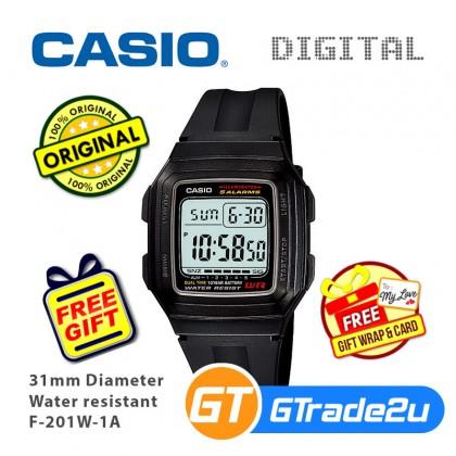 CASIO Men Kids Digital Watch Jam Casio Ori Lelaki Kanak 2 F-200W F-201WA