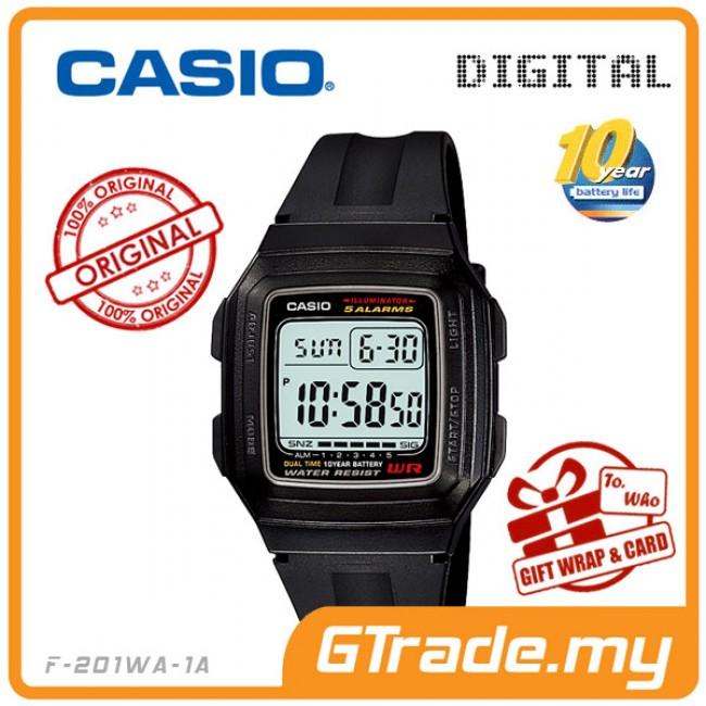 CASIO Men Kids Digital Watch Jam Casio Ori Lelaki Kanak 2 F-200W-201WA