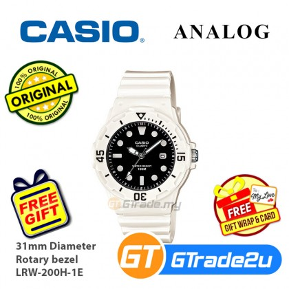 Casio Women Kids LRW-200H Analog Watch Fashionable Diver design Various Colors