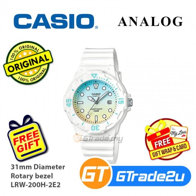 Casio Women Kids LRW-200H Analog Watch Fashionable Diver design Various Colors