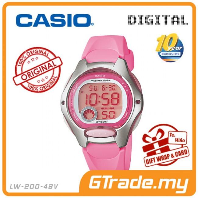 CASIO Ladies Kids Young Digital Watch Jam Casio Ori Kanak-Kanak LW-200
