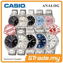 CASIO Men Women Couple Watch Jam Casio Pasangan MTP-LTP-1302D-1314D